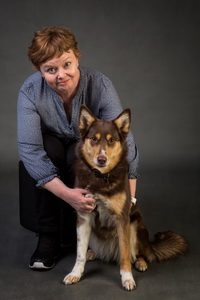 Rikke Mortensen hundetræning instruktør bestyrelsesmedlem
